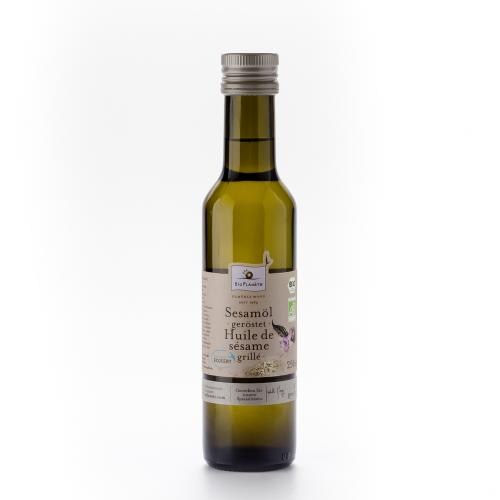 Sesamöl geröstet Flasche 250 ml/Glas Einweg - Bio Planète