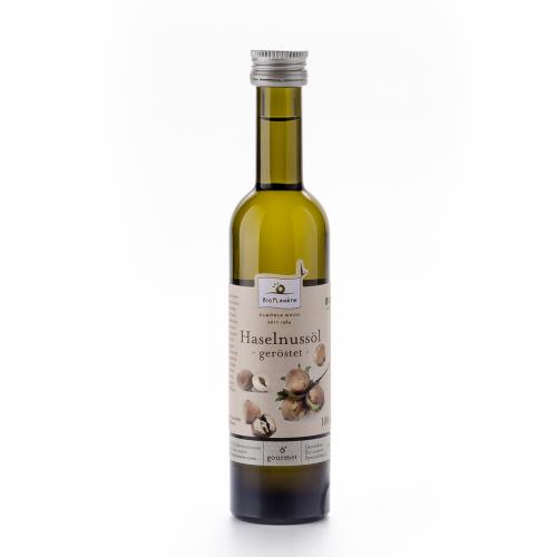 Haselnussöl geröstet Flasche 100 ml/Glas Einweg - Bio Planète
