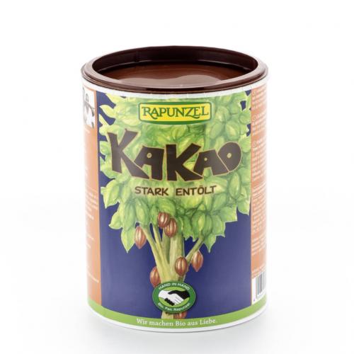 Kakao Pulver stark entölt Dose 250 g - Rapunzel