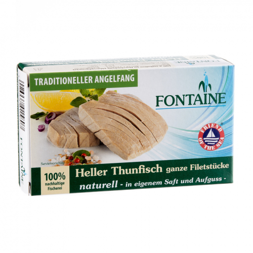 Thunfisch hell naturell