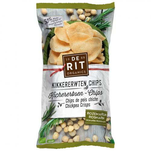 Kichererbsen-Chips Rosmarin Beutel 75 g - De Rit