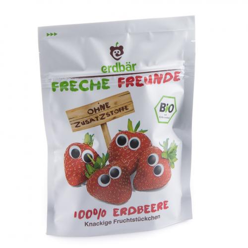 Fruchtchips Erdbeere