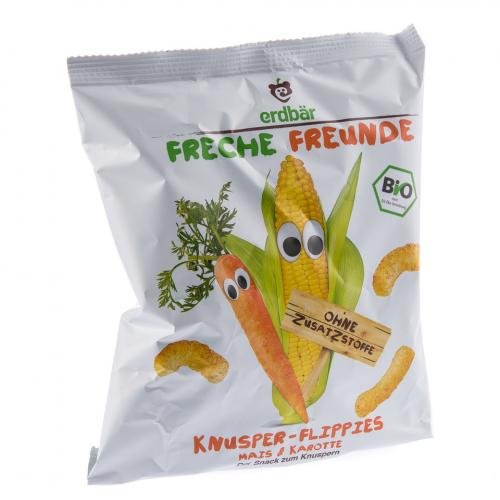 Knusper-Flippies Mais & Karotte