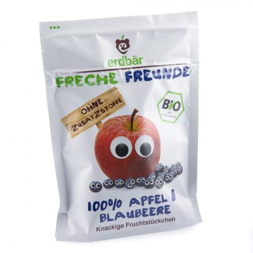 Fruchtchips Apfel & Blaubeere Beutel 16 g - Freche Freunde