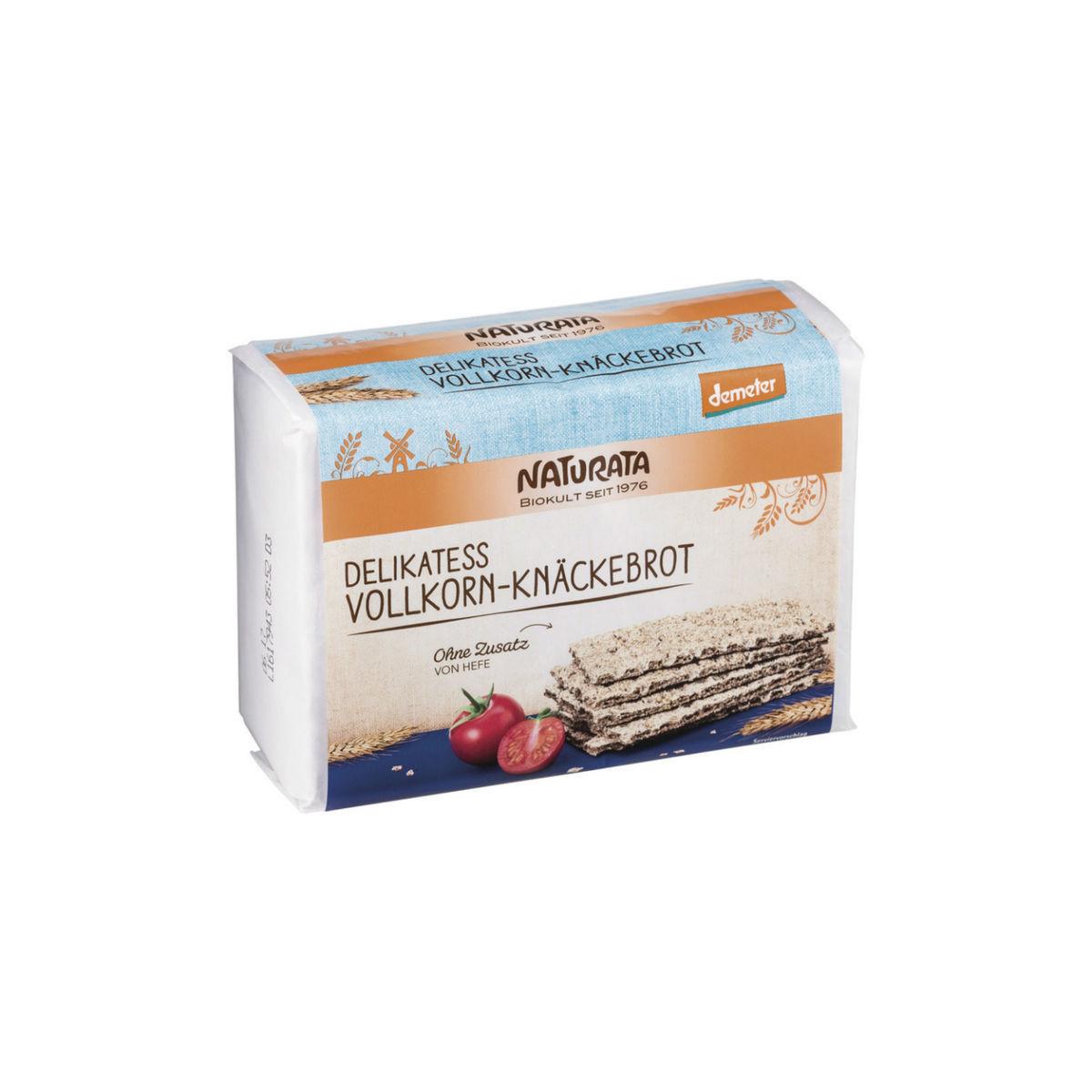 Knäckebrot Vollkorn Delikatess Pack 250 g - Naturata
