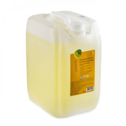 Olivenwaschmittel Wolle/Seide flüssig Bidon 10 l  - Sonett