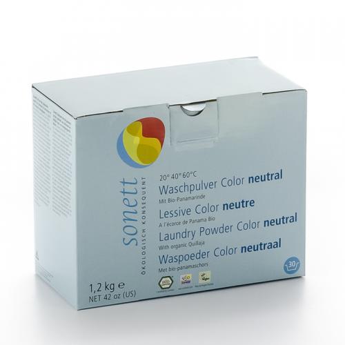 Waschpulver Color sensitiv 20° 40° 60° mit Bio-Panamarinde