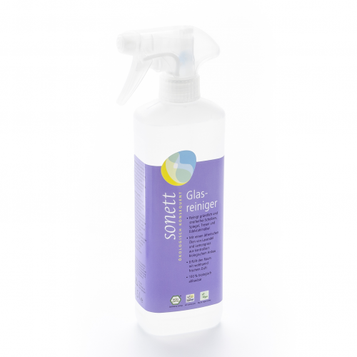Glasreiniger, Spray Flasche 500 ml/Plastik Einweg - Sonett