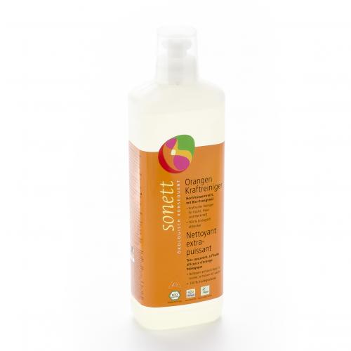 Orangen Kraft-Reiniger Flasche 500 ml/Plastik Einweg - Sonett
