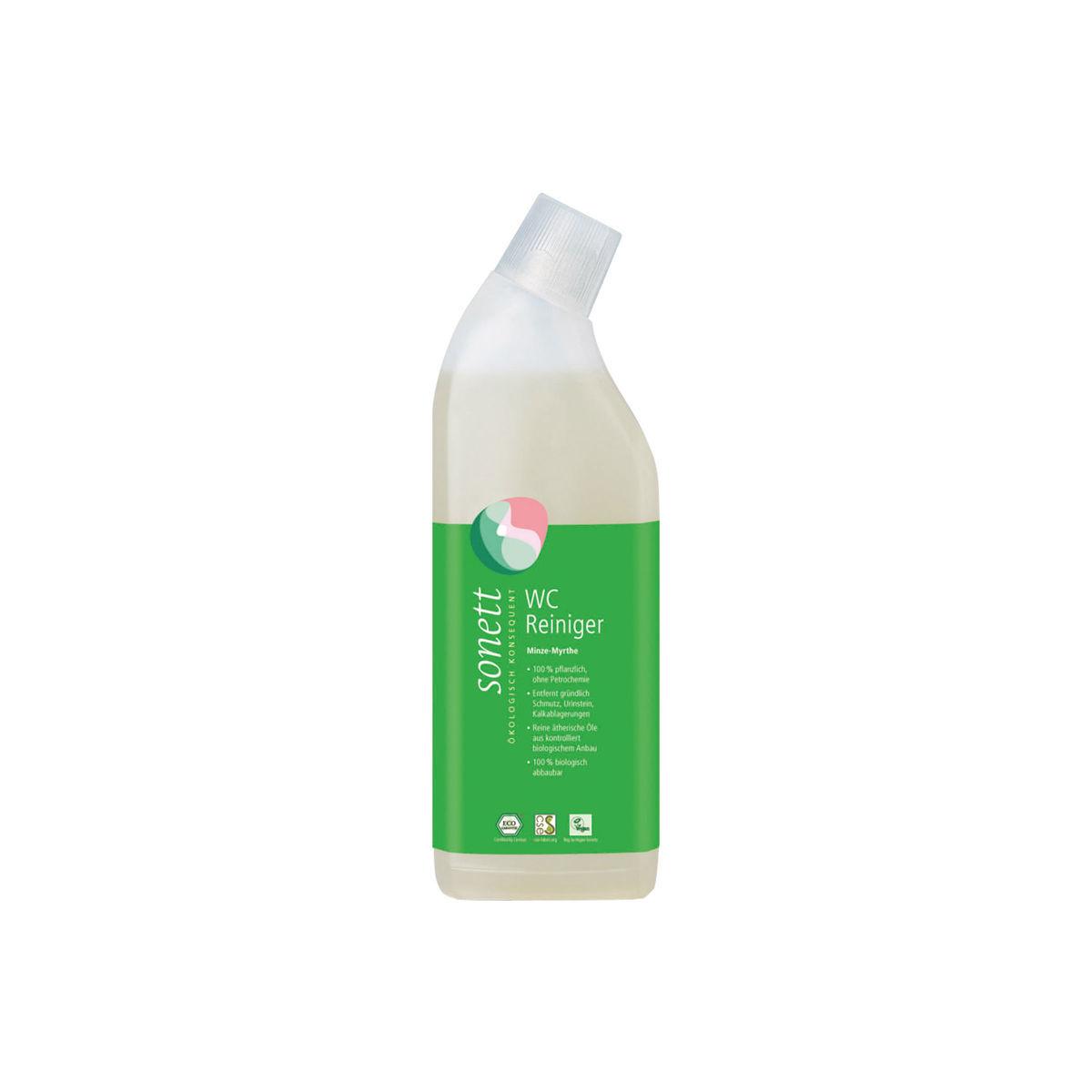 WC Reiniger Minze-Myrthe Flasche 750 ml/Plastik Einweg - Sonett