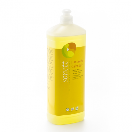 Handseife Calendula, Nachfüllflasche Flasche 1 l/Plastik Einweg - Sonett
