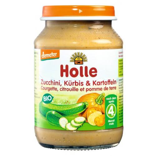 Zucchini & Kürbis mit Kartoffeln