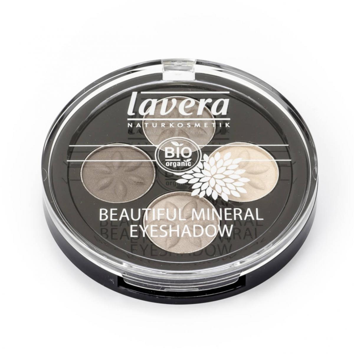 Beautiful Mineral Eyeshadow Quattro Dose 4 g - Lavera