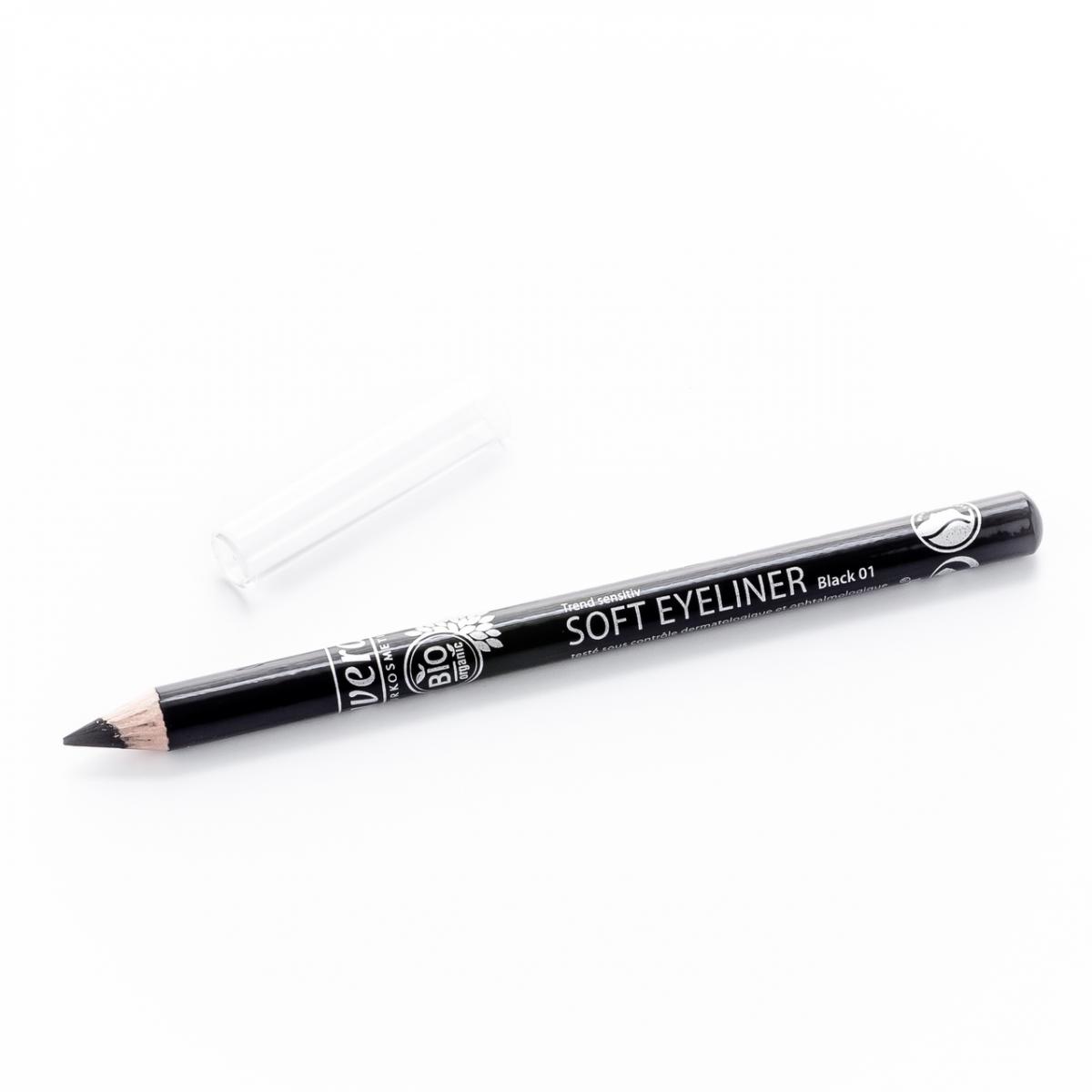 Soft Eyeliner -Black 01- Stift 1.14 g - Lavera