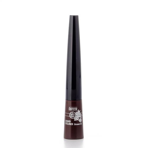 Liquid Eyeliner -Brown 02- Flasche 3.5 ml/Plastik Einweg - Lavera