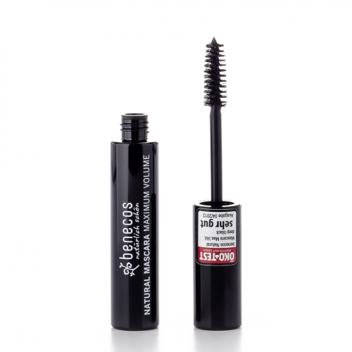 Mascara Maximum Volume deep black Stück 8 g - benecos