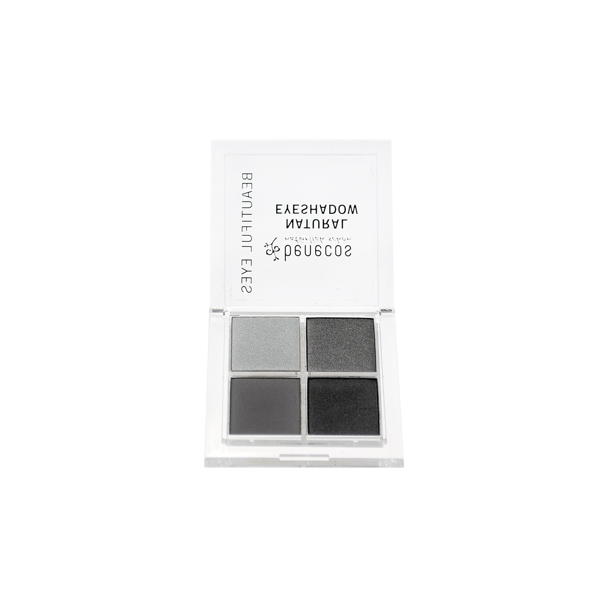 Quattro Eyeshadow smokey eyes Dose 8 g - benecos