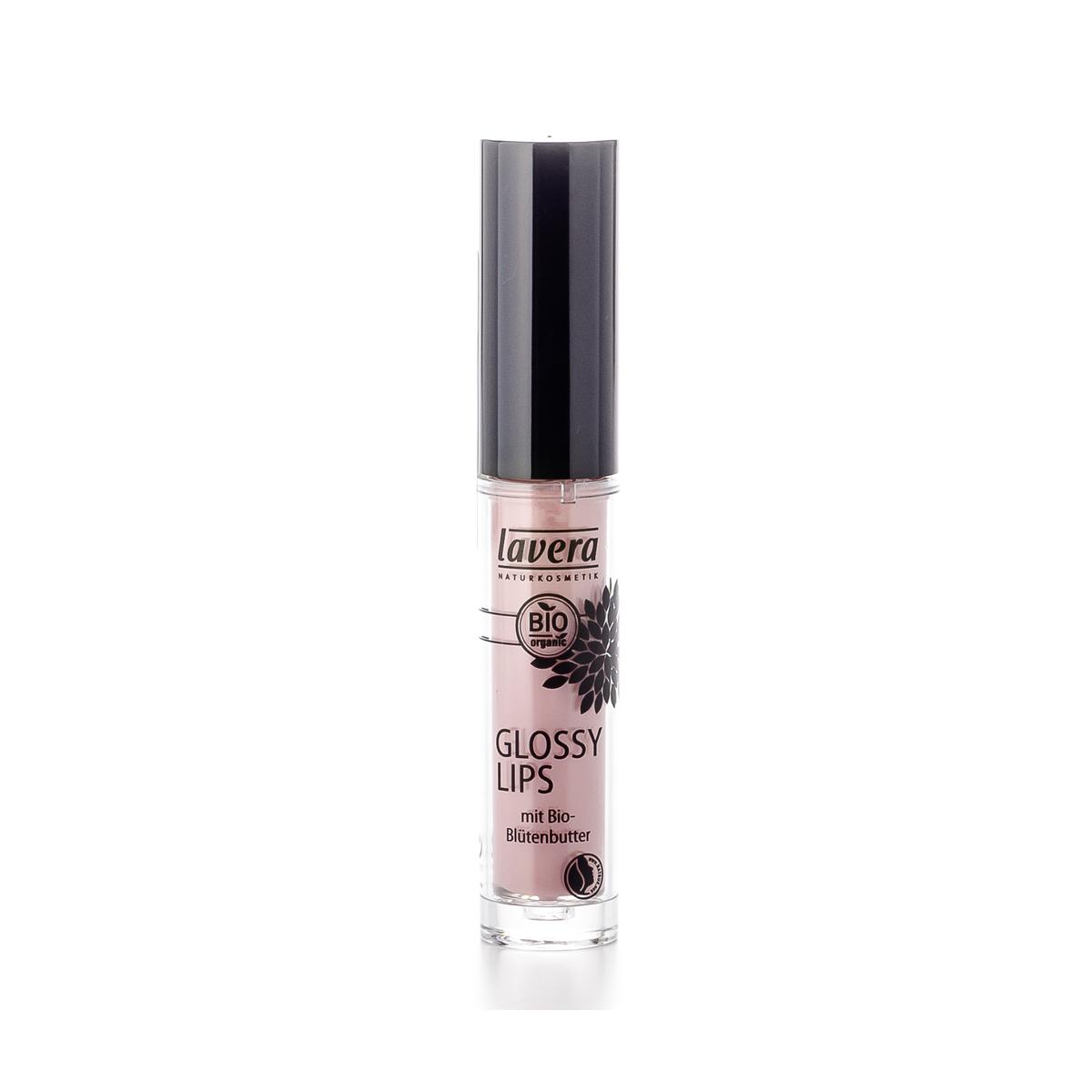 Glossy Lips -Rosy Sorbet 08 - Flasche 6.5 ml/Plastik Einweg - Lavera