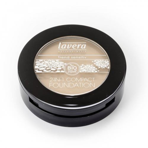 2in1 Compact Foundation -Honey 03- Dose 10 g - Lavera