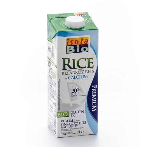 Reis Drink mit Calcium isola Bio 1l