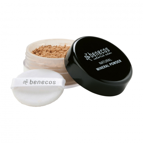 Mineral Powder medium beige Tiegel 10 g - benecos
