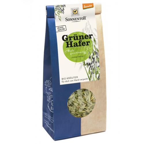 Grüner Hafer Tee lose Bio