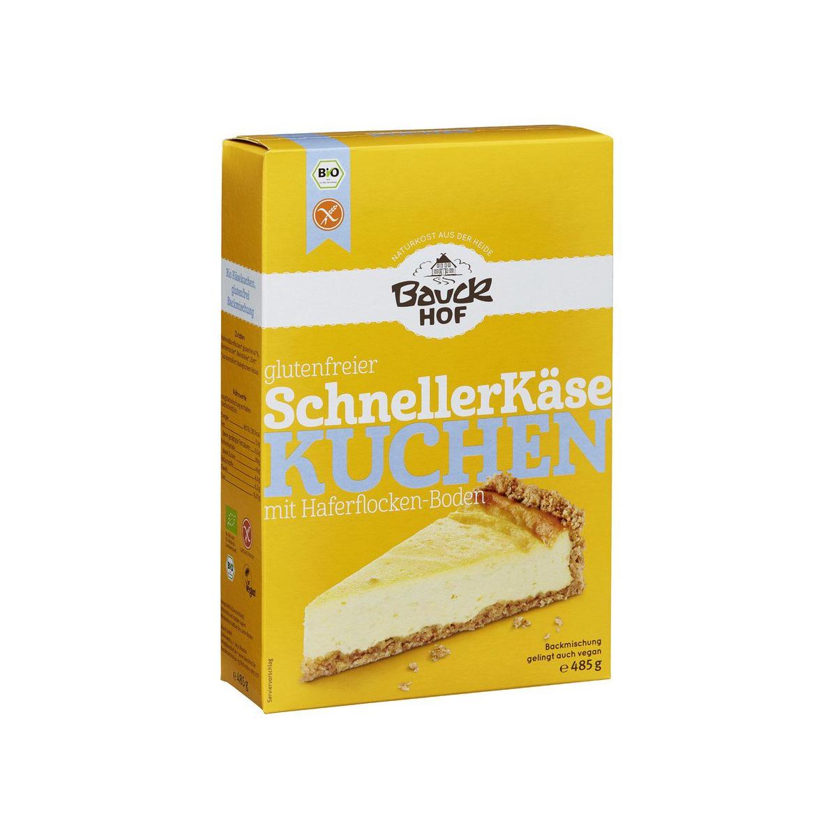 Schneller Käsekuchen (QUARKTORTE) glutenfrei