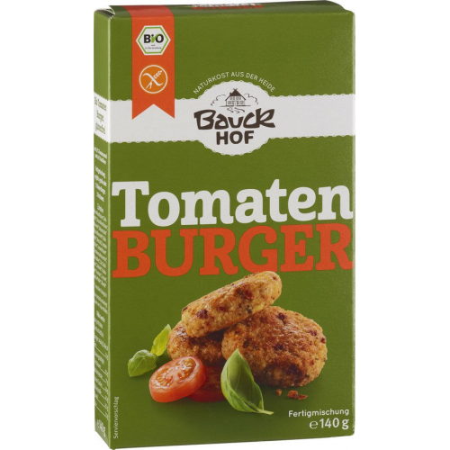 Bio Tomaten-Basilikum-Burger Bauck