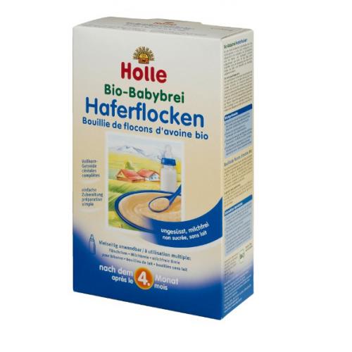 Bio-Babybrei Haferflocken