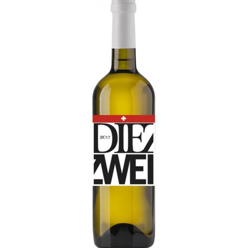 Die Zwei weiss, Seyval blanc & Pinot Noir