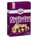 Bio Obstkuchenteig Bauck glutenfrei