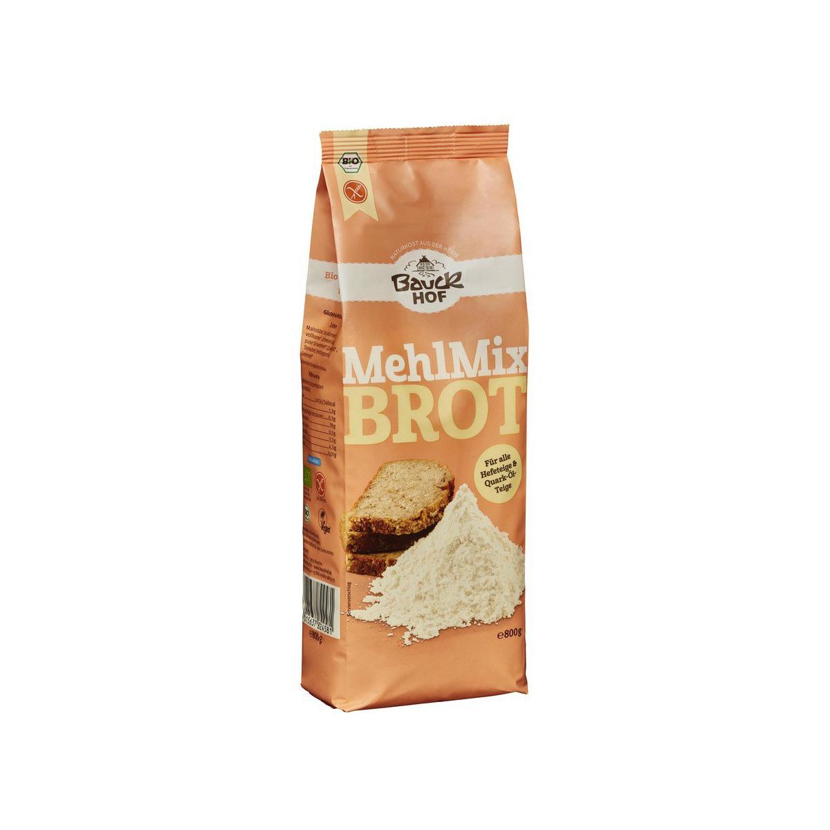Mehlmix Brot glutenfrei