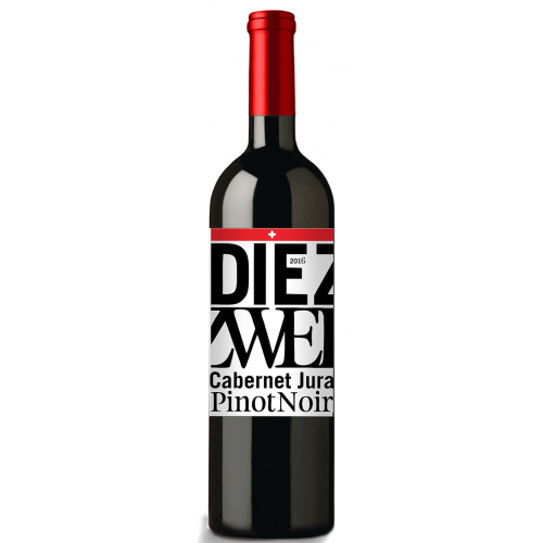 Die Zwei, Pinot Noir - Cabernet Jura, Thurgau 2016