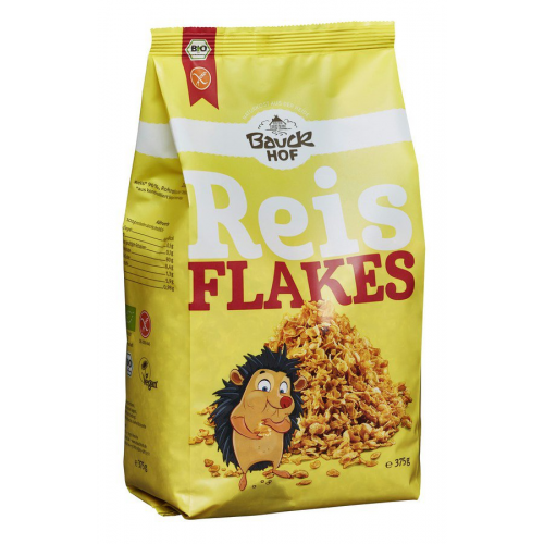 Bio Reisflakes Bauck glutenfrei