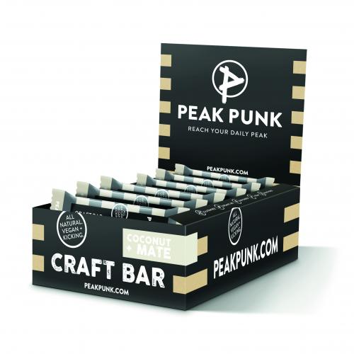 PEAK PUNK Craft Bar Coconut Mate 15x38g