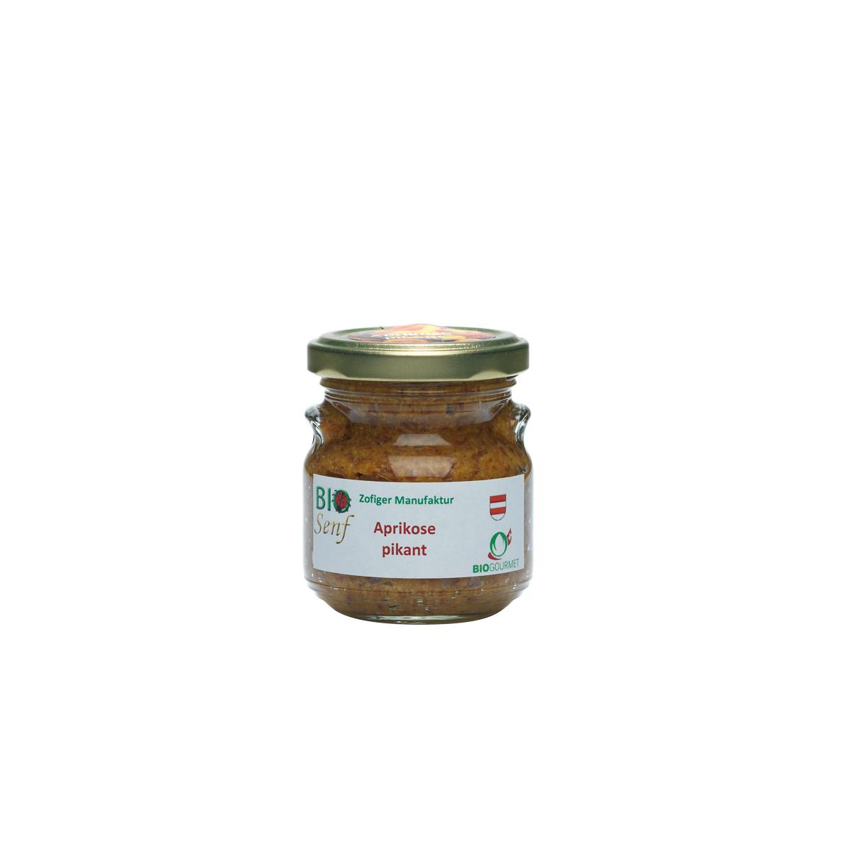 Aprikosen Senf pikant Gourmet - Knospe