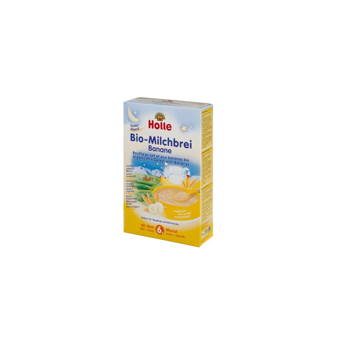 Bio-Milchbrei Banane
