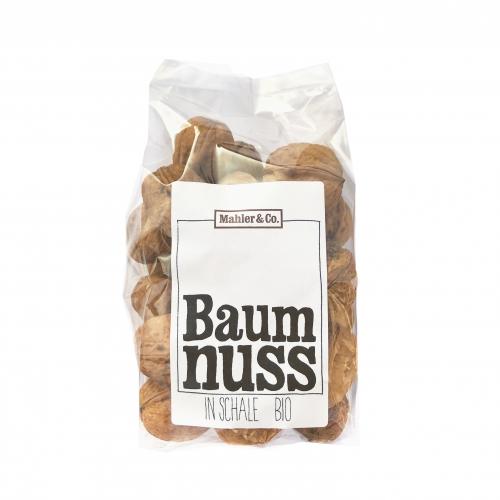 Schweizer Bio Baumnüsse in Schale