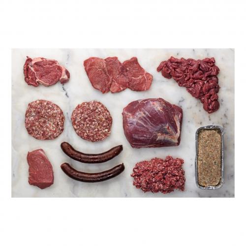 BIO BOX Hochlandrind Fleisch, Wurst 3kg