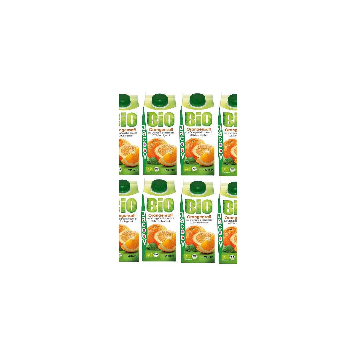Jacoby Orangensaft AKTION KARTON 8x0.75l