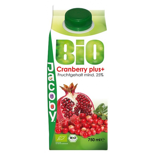 Jacoby Bio Cranberry plus Nektar 0.75l
