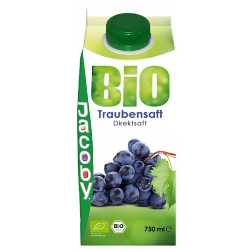 Jacoby Bio roter Traubensaft 0.75l
