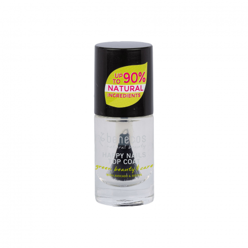 Nail Polish crystal Flasche 9 ml/Glas Einweg - benecos