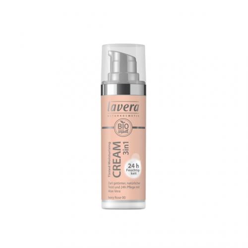 Tinted Moisturising Cream 3in1 -Natural- Flasche 30 ml/Plastik Einweg - Lavera