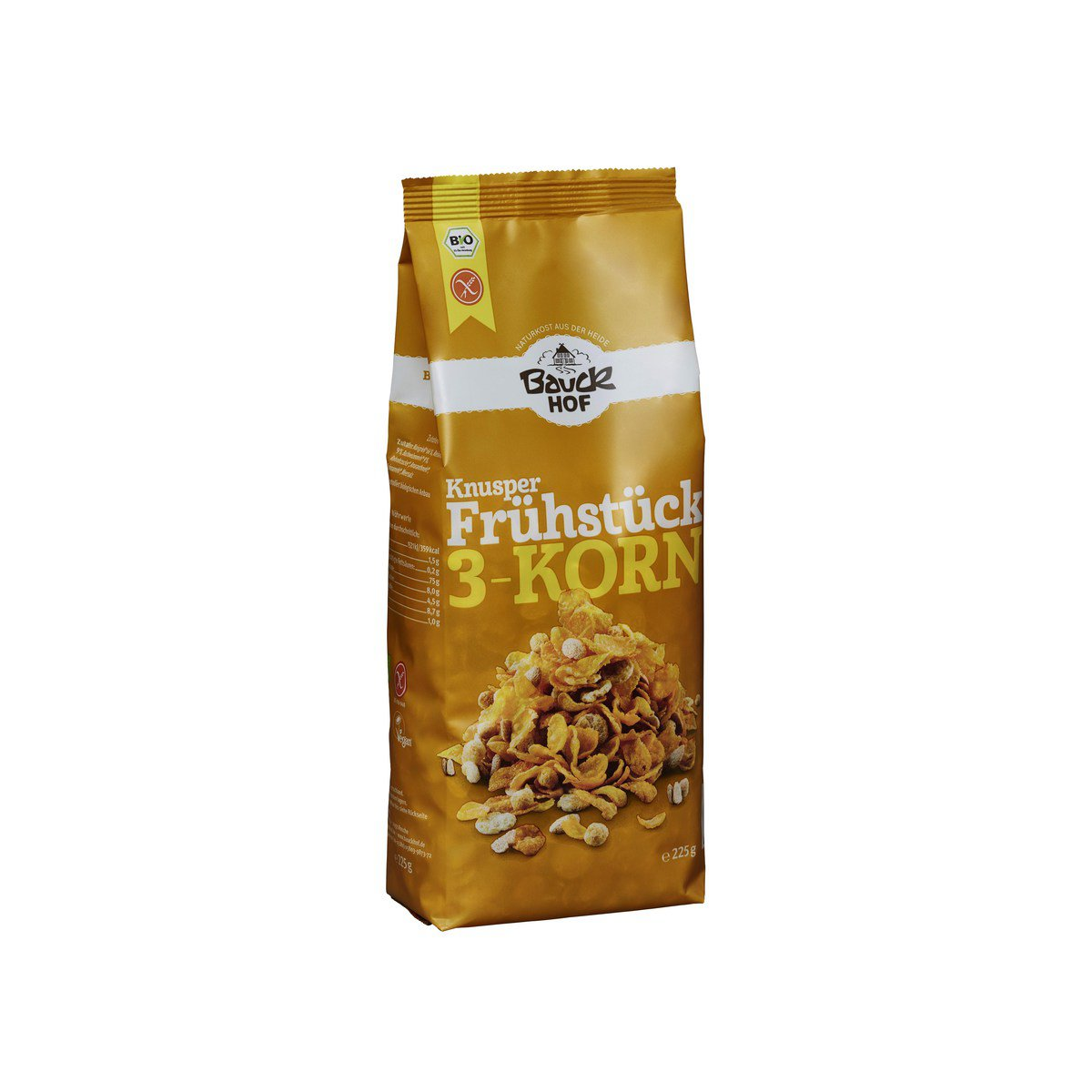 Knusperfrühstück 3-Korn glutenfrei