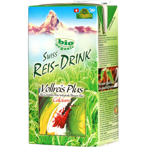 Reisdrink Vollreis plus Soyana 1l