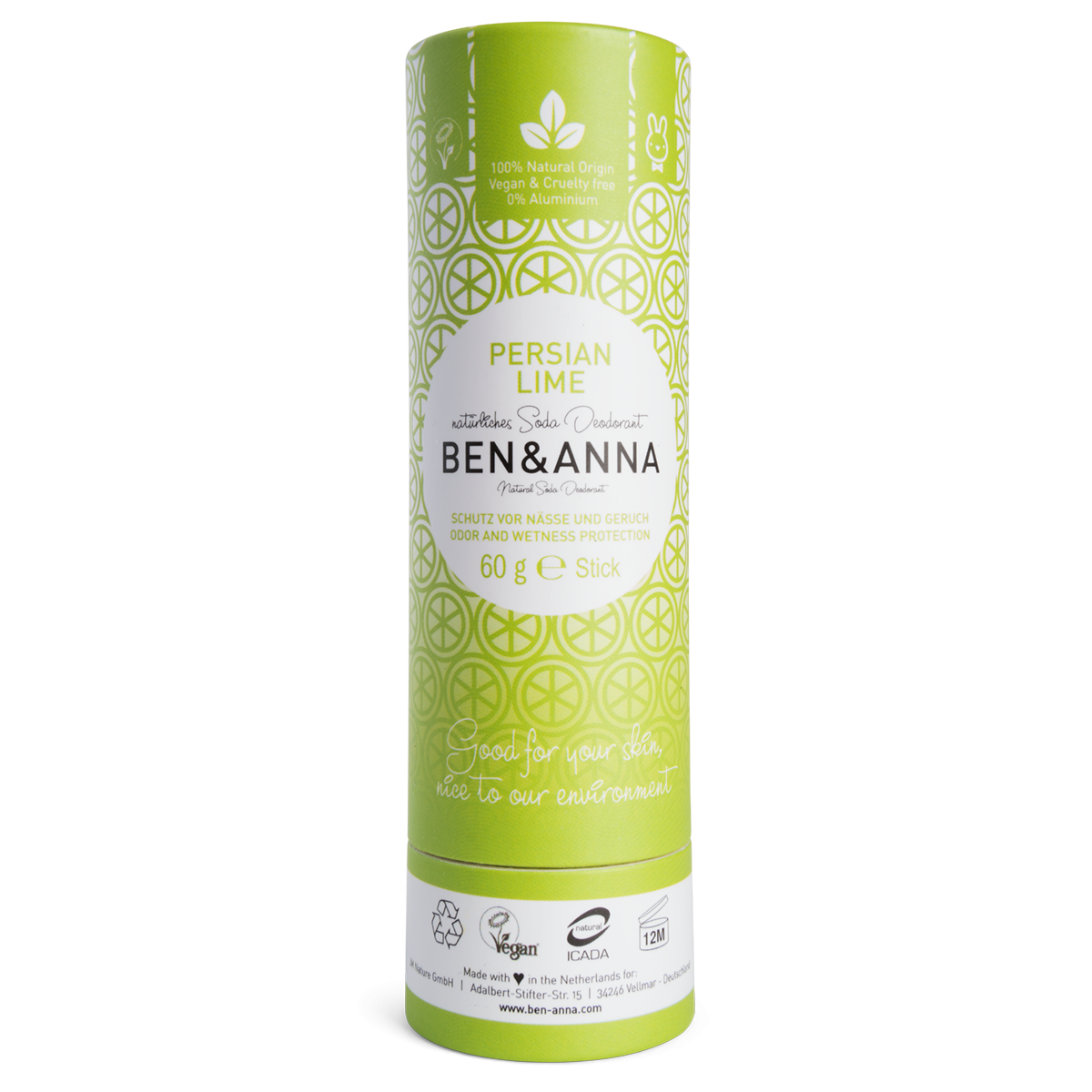 Deo Persian Lime, Soda-Deodorant