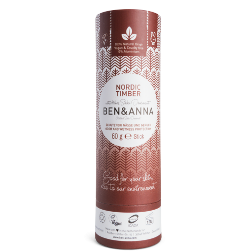 Deo Nordic Timber, Soda-Deodorant