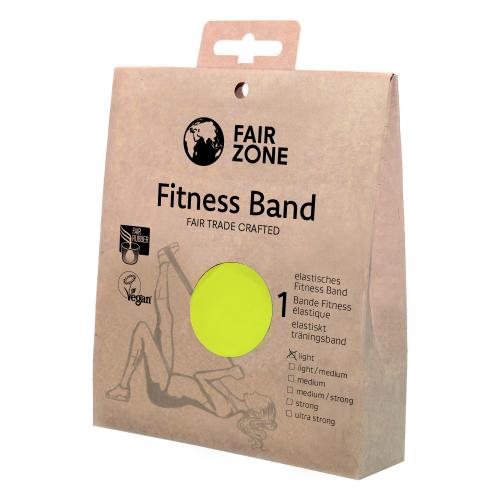 Fitnessband light 0.16mm, Naturkautschuk Yello