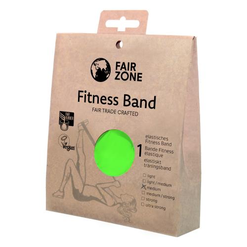 Fitnessband medium 0.25mm, Naturkautschuk Green